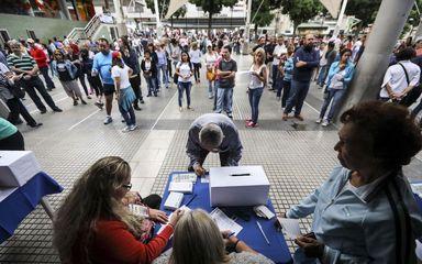 رای گیری نمادین در ونزوئلا
