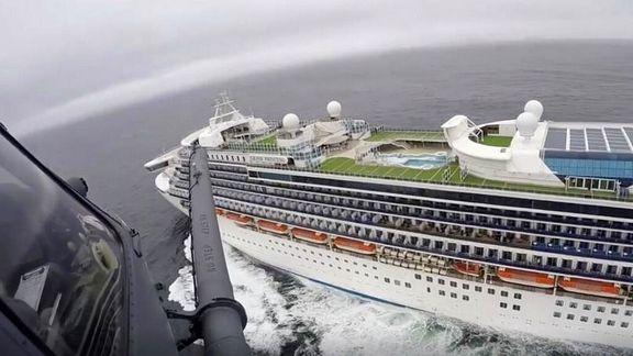 آمریکا ابتلای ۲۱سرنشین یک کشتی تفریحی را به کرونا تائید کرد