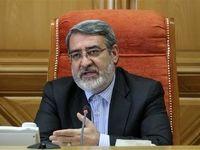 وزیر کشور: فشار اصلی تحریمها روی مردم است