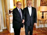 حضور وزیر امورخارجه فرانسه در افتتاحیه نمایشگاه لوور در ایران