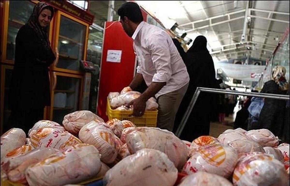 رسیدن قیمت مرغ به ۲۰هزار تومان تا ۱۰روز آینده