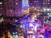 وقوع انفجار در سن پترزبورگ روسیه +عکس