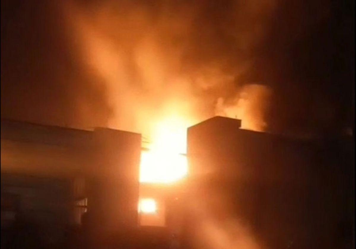 دلیل آتشسوزی خط لوله مارون - اصفهان چه بود؟