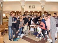 حضور طارمی در جشن قهرمانی قطریها +عکس