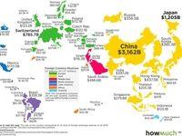 نقشه گنج در جهان +اینفوگرافیک