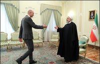 دیدار وزیر خارجه هلند با روحانی +تصاویر