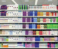 قفسههای فروش شامپو بدن در اختیار برندهای ایرانی