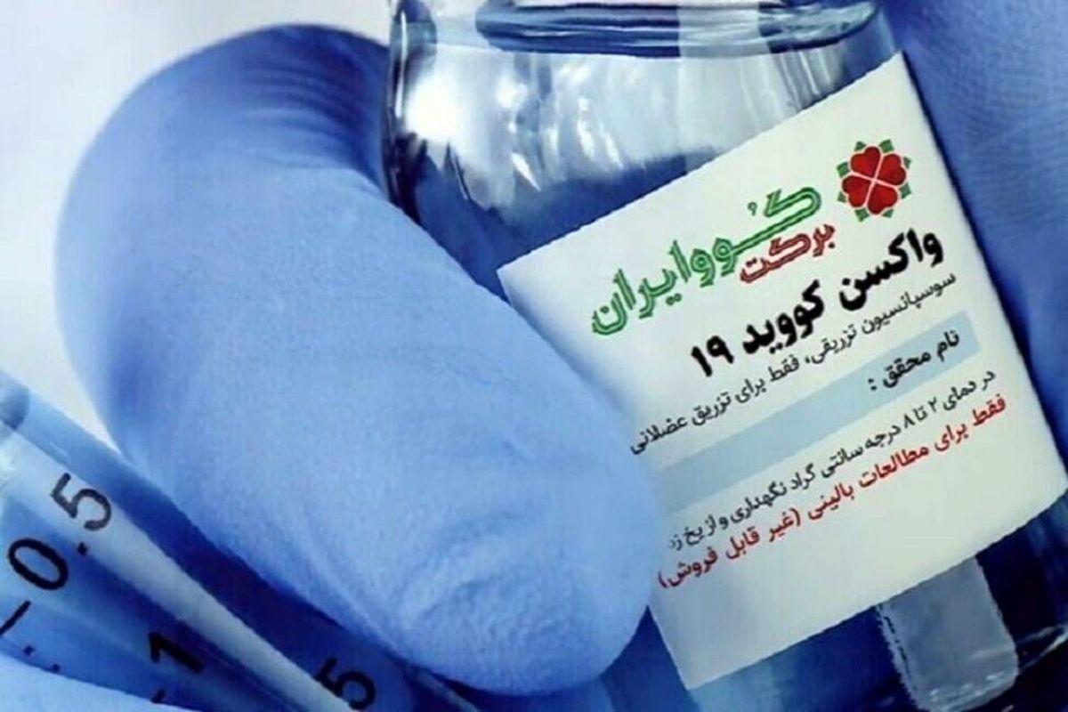 خط تولید واکسن «کوو ایران برکت»  + فیلم