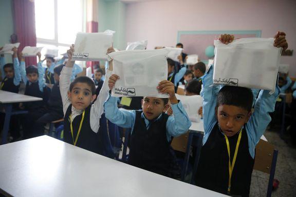 سال تحصیلی جدید در مدرسه امید آینده در روستای خونسرخ آغاز شد