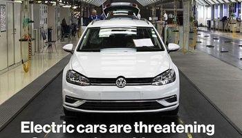 خودروهای الکتریکی، صنعت خودروسازی آلمان را به مرز درماندگی رساند