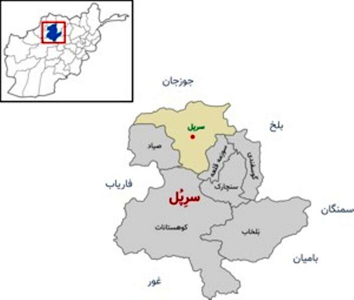 مرکز استان سرپل در شمال افغانستان بدست طالبان افتاد