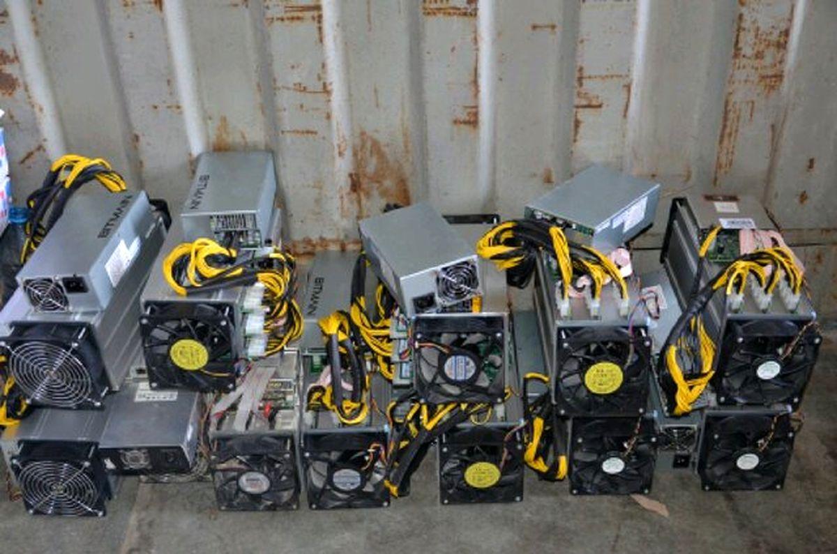 کشف تجهیزات قاچاق استخراج ارز دیجیتال