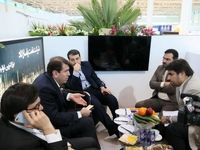 بازدید مدیرعامل شستا از غرفه شرکت نفت پاسارگاد
