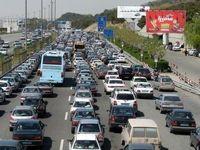 ترافیک سنگین درآزادراه تهران -کرج -قزوین