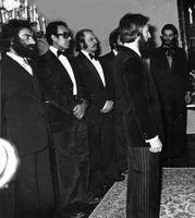 مسعود کیمیایی و عباس کیارستمی؛ ۴۳ سال پیش +عکس