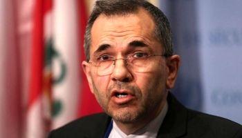 ایران تحریم ظریف را مغایر حقوق و موازین بین المللی دانست