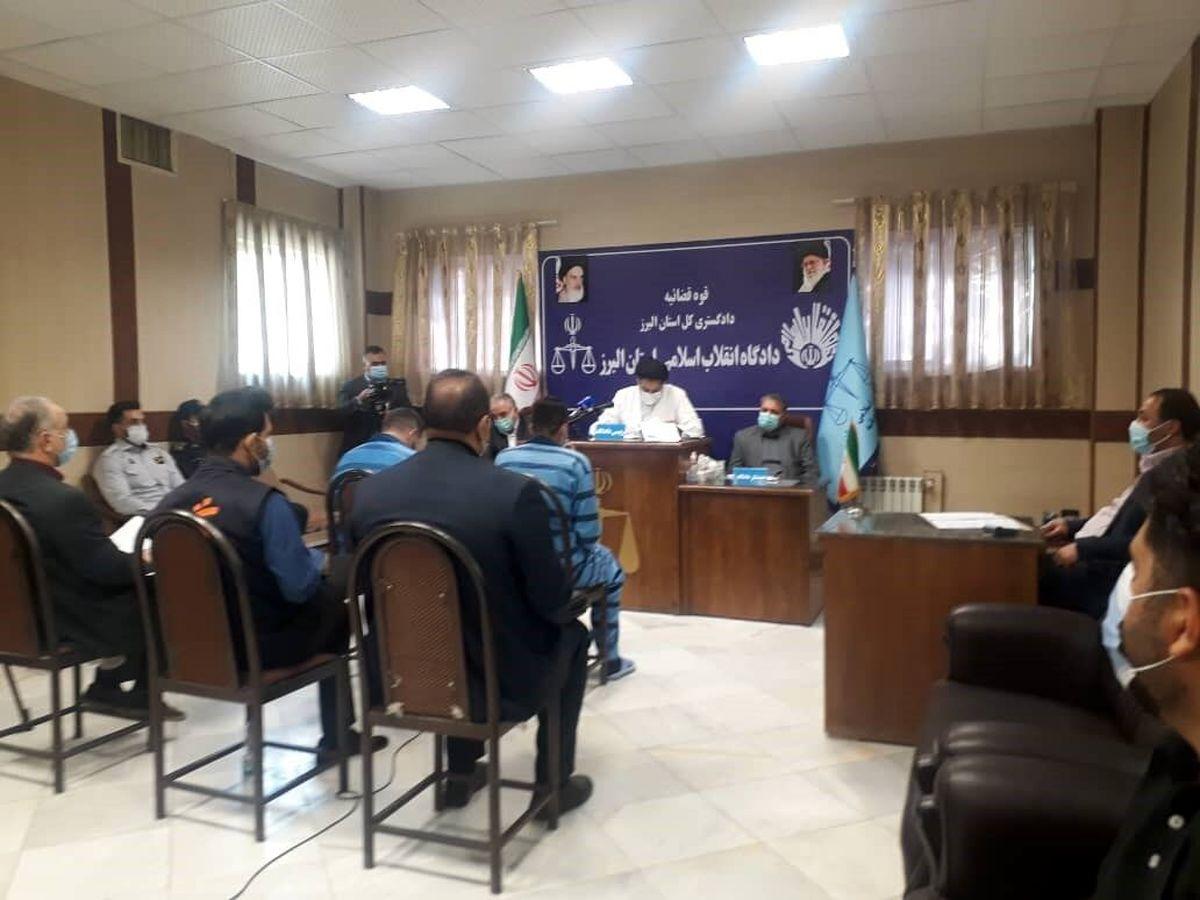 رسیدگی به پرونده زورگیران اتوبان تهران-قزوین آغاز شد