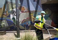 تصاویر باورنکردنی از مرکز لس آنجلس +تصاویر
