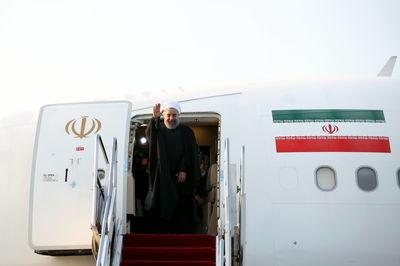 رییس جمهوری عازم تهران شد