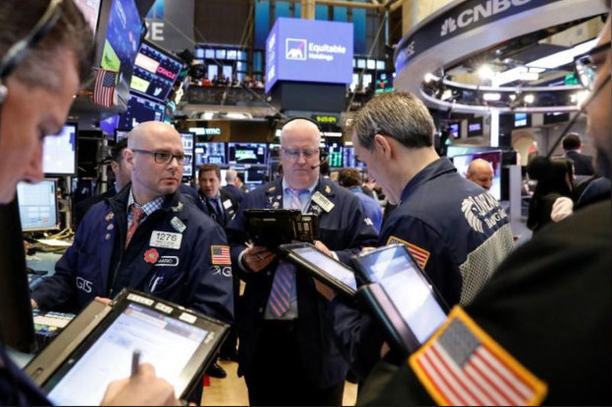 اولین افت سه روزه بازارهای سهام آمریکا پس از هفت ماه