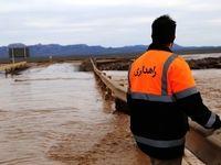 سیلاب ۲مسیر در جنوب سیستان و بلوچستان را بست