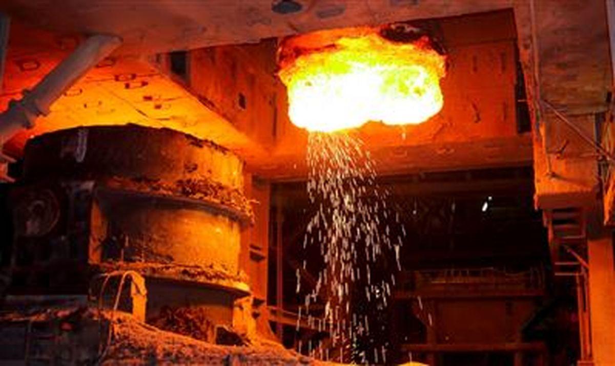 تولید ۱۹.۱میلیون تن شمش فولادی