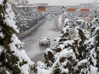 بارش برف در ارومیه +عکس