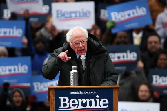 انصراف برنی سندرز از انتخابات ریاست جمهوری آمریکا