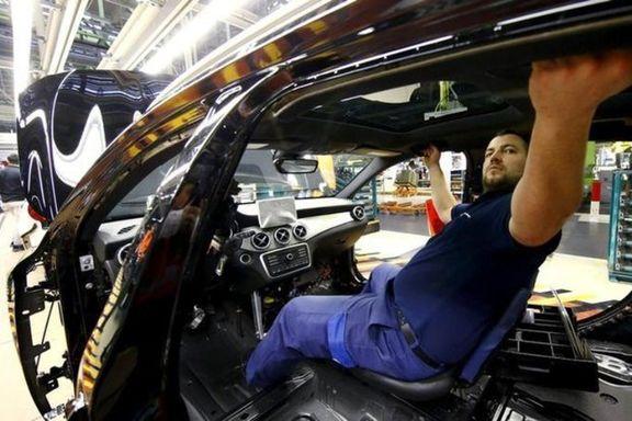 احتمال توقف تولید خودرو بهدلیل ورشکستگی قطعهسازان