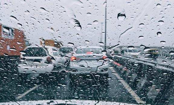 بارندگی و کاهش دما در سواحل خزر