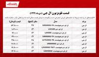 قیمت تلویزیون ال جی +جدول