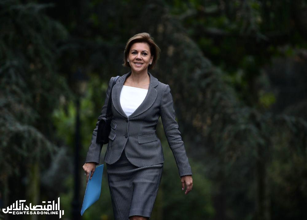 وزیر دفاع اسپانیا خانم مارگاریتا روبلس2