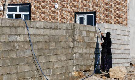 ساخت و ساز در مناطق زلزلهزده کرمانشاه