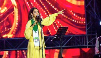 کنسرت دو خواننده زن در عربستان +تصاویر