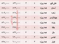 هزینه سفر به اصفهان در بهار جاری +جدول