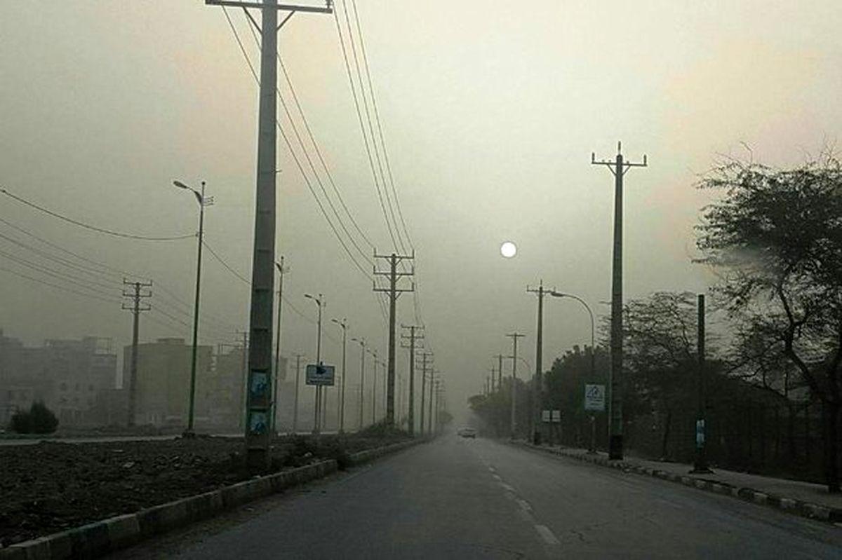 غلظت ریزگردها در شهر یاسوج به سه برابر حد مجاز رسید