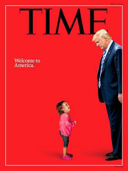ترامپ خوشآمدگو! روی جلد نشریه تایم