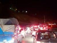 تردد سنگین در خروجیهای تهران