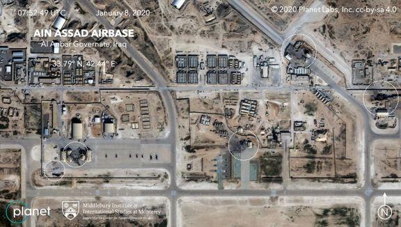 تصویر هوایی از حال و روز پایگاه عین الاسد
