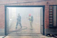 انفجار گاز شهری ساختمانی، یک مصدوم بر جای گذاشت
