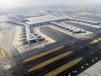 افتتاح بزرگترین فرودگاه دنیا با حضور ظریف +عکس