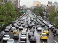 وضعیت معابر تهران در هفدهمین روز فروردین