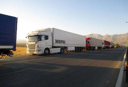 صف کامیونها در مرز بازرگان به صفر رسید