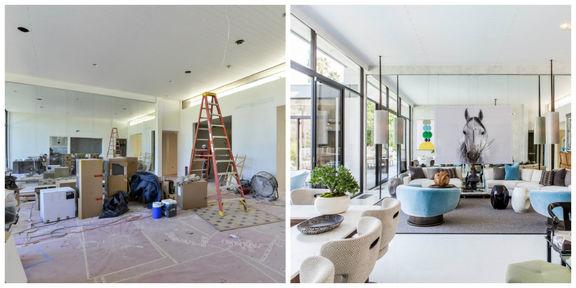 مراحل طراحی داخلی و بازسازی ساختمان و خانه + نمونه
