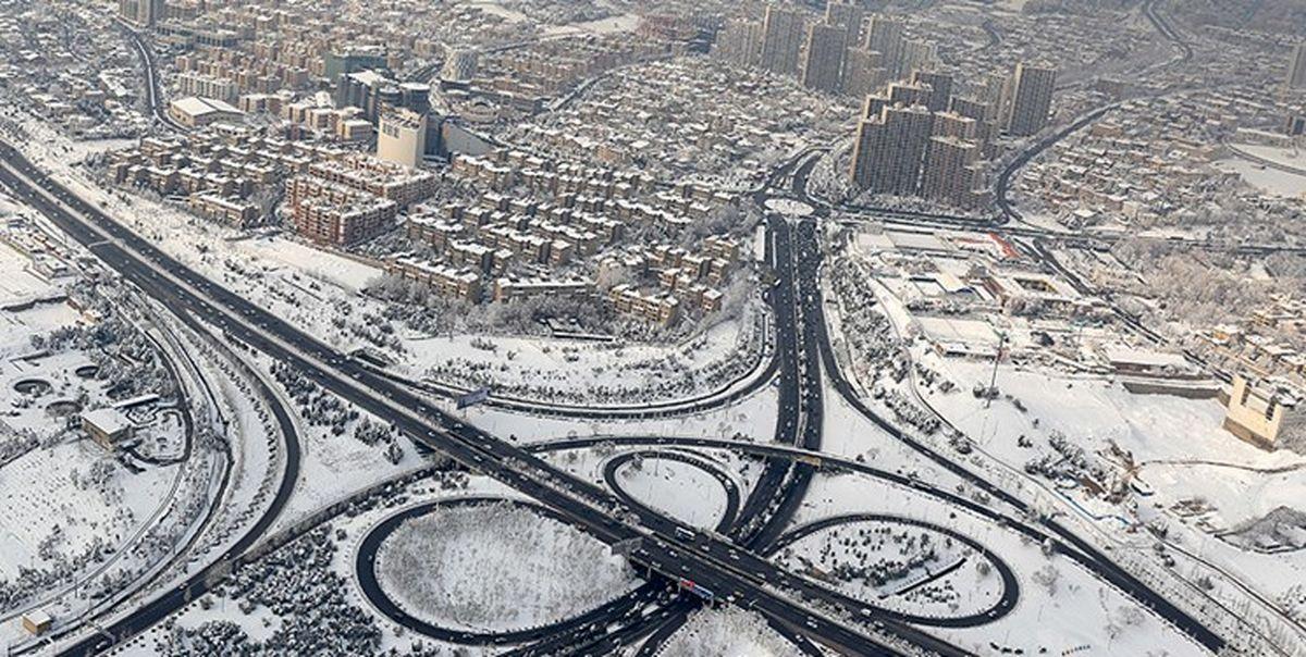 پیشبینی بارش برف و باران در ارتفاعات استان تهران