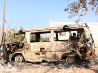 تصویری از خودروی ابوبکر بغدادی