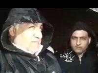 توضیحات استاندار کرمانشاه درباره بارشها +فیلم
