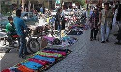 جمع آوری دستفروشان خیابان انقلاب میدان امام حسین (ع)