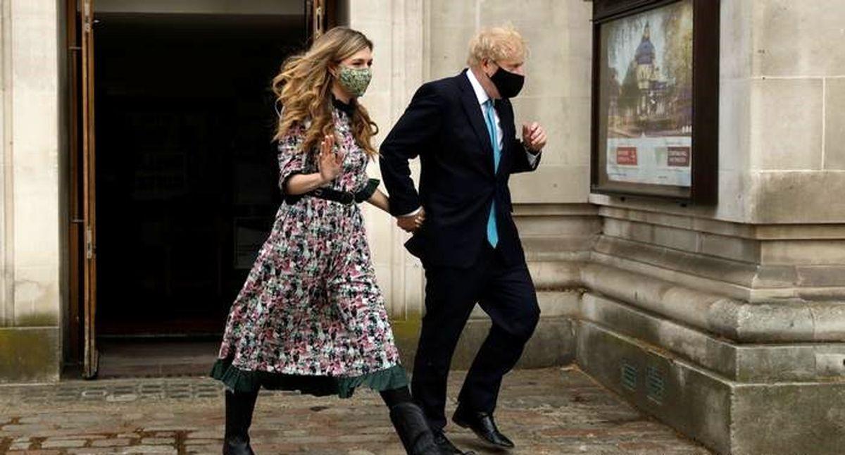 ازدواج پنهانی نخست وزیر انگلیس + عکس