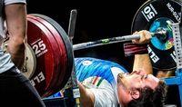 وزنه بردار ایرانی رکورد دنیا را شکست و المپیکی شد